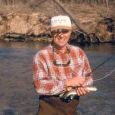 Fly fishing in Missouri's Little Piney River with Stream Side Adventures